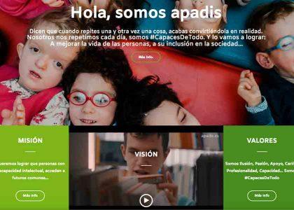 Lanzamiento de la nueva web de APADIS
