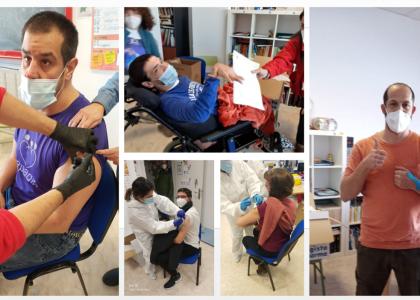 COVID-19: ¡Comienza la vacunación en APADIS!