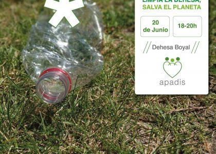 Limpia la Dehesa, Salva el Planeta: ¡únete a APADIS el próximo jueves 20 de junio!