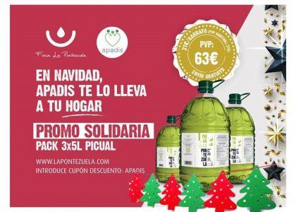 La Pontezuela y APADIS refuerzan su alianza: ¡te lo llevamos a casa GRATIS por Navidad!
