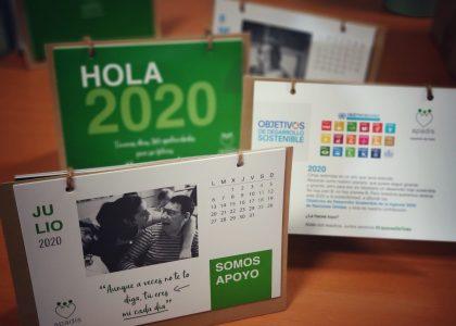 Calendario Solidario de APADIS: ¡por un 2020 sostenible e inclusivo!