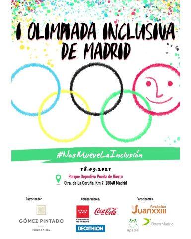I Olimpiada Inclusiva de Madrid: #NosMueveLaInclusion