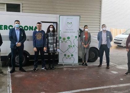 Mercadona y APADIS, juntos en un programa de donación de alimentos