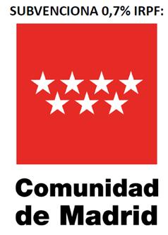 subvecionado por 0.7% IRPF Comunidad de Madrid
