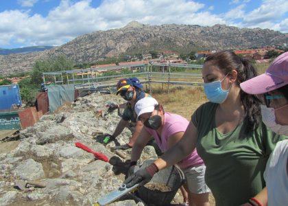 APADIS participa en excavaciones arqueológicas en Manzanares el Real