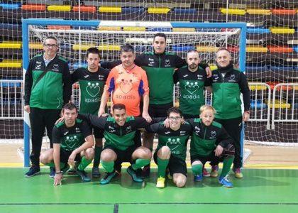 El Equipo de fútbol sala APADIS, Cuartos en el Campeonato de España.
