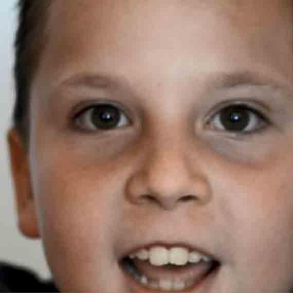José Alfonso, 8 años