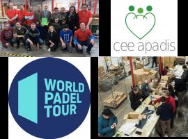 World Padel Tour y CEE APADIS, una alianza… de campeonato