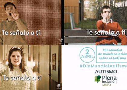 Día Mundial del Autismo: #TeSeñaloATi, un lema por la inclusión