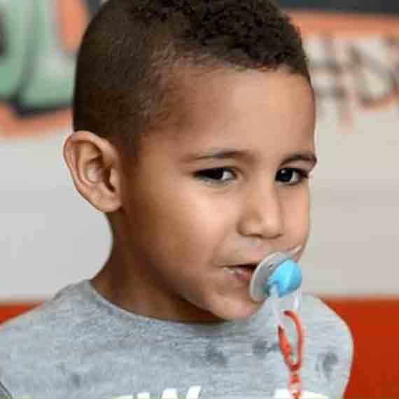 Sebastián, 3 años