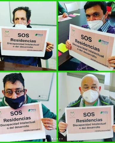 #SOSResidenciasDID: familias informadas sobre la campaña