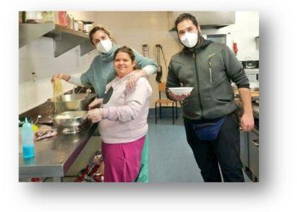 Telefónica: cocinando en familia con APADIS